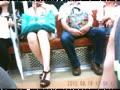 [オリジナル動画」電車内でのパンチラ撮影 22分